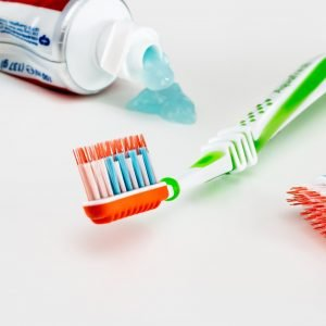 photo of toothbrush